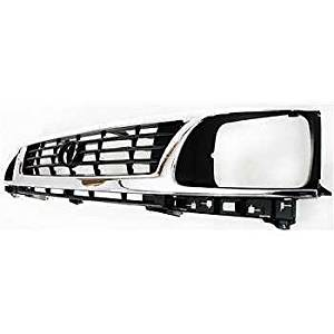 Diften 102-A3811-X01 - New Grille Assembly Grill Chrome Toyota Tacoma 96 95 1996 TO1200193 5310035300