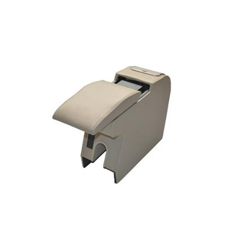 Factory direct sell seat rubber decoration armrest box for jac