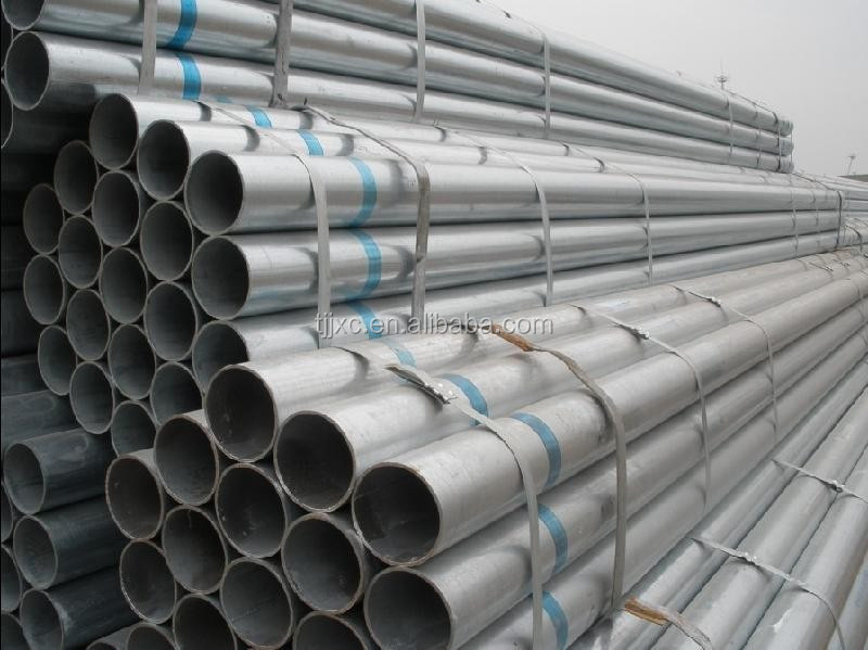 electro galvanized round steel tube pipe and tubes 01