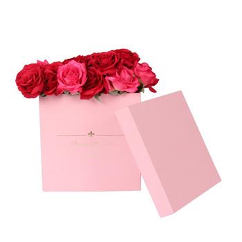 Luxury Square Hard Paper Flower Carton Flower Packaging Box Buy