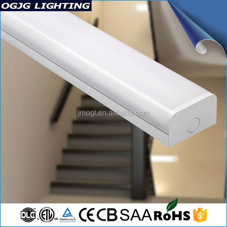 Etl Dlc Ce Cb Saa Listed 2ft 4Ft Smd2835 waiting room Batten Fixtures dimming Ceiling Linear Led hospital Light