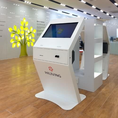 Hot sale queue management system ticket dispenser kiosk