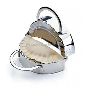 pastry tools dumpling maker wraper dough cutter pie ravioli 304 stainless steel dumpling mould
