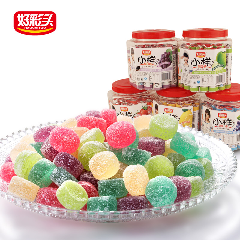 540g Gummy Mix Fruit Candy,Thai Candy Gummy , Fujian Candy Wholesale