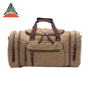 Gym Sports Custom Duffle Mens Canvas Travel Bag