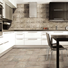 Double loading polished porcelain glazed dining room wall ceramic tile 300*600