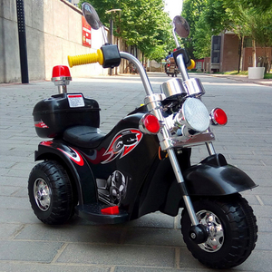 Cheap Children like blank and red kids electric motorcycle