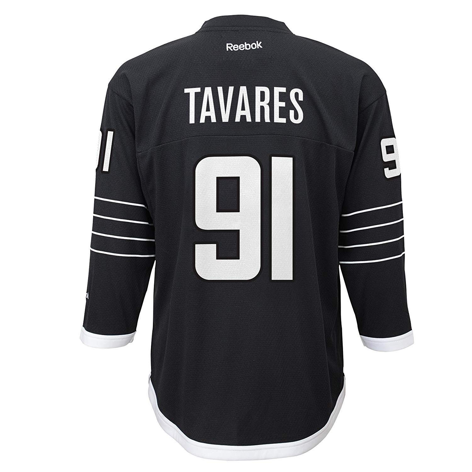 Get Quotations · John Tavares New York Islanders  91Kids Black Alternate  Replica Jersey b5f5516a6