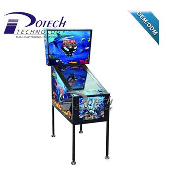 Coin Pusher Type 3d Treasure Deep Sea Virtual Pinball Machine For Sale -  Buy Coin Pusher Machine For Sale,Pinball Machine,Game Machine Product on