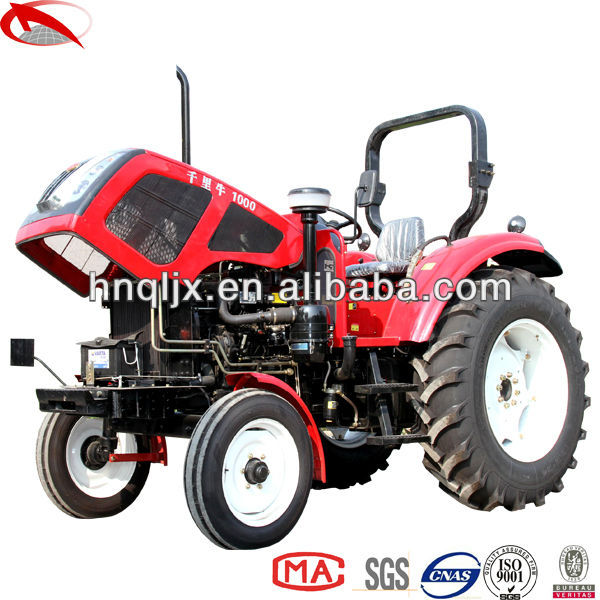 New design QLN 1000 100hp 2wd wheel tractors in uae