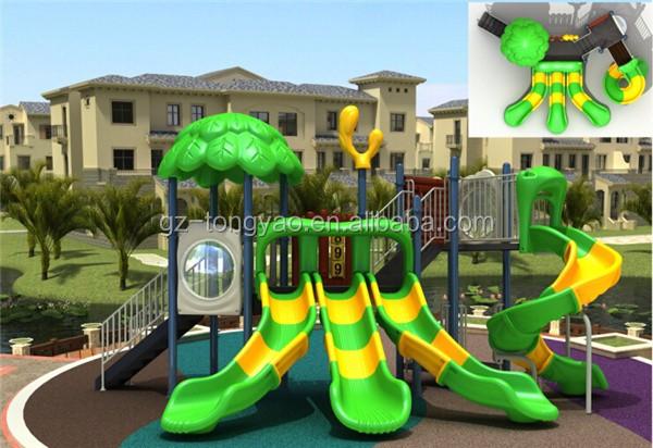 deslizante para los nios juegos infantiles al aire libre para patio