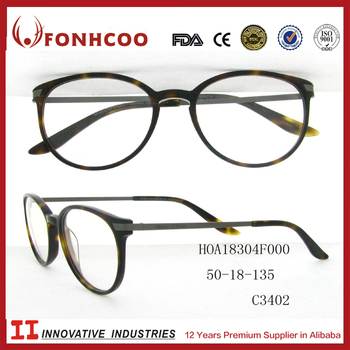Japanese Plastic Eyeglass Frames : Fonhcoo Modern Japanese Style Latest Designer Plastic ...