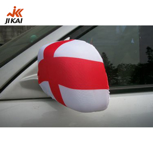 car mirror flag cover, flag mirror cover, fabric side mirror covers