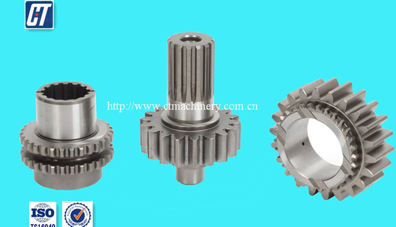High precision crown Gear