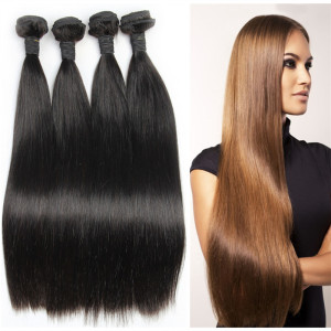 LeYuan most competitive wholesale straight comb bundle brazilian human hair