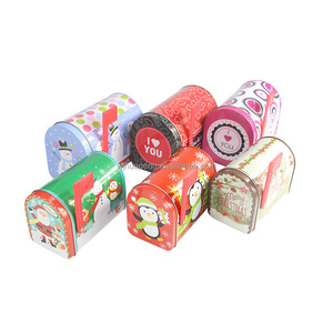 Best price high quality mail box shape christmas metal tin box with cute design for kids