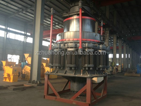 China Huahong single cylinder used gyratory hydraulic cone crusher