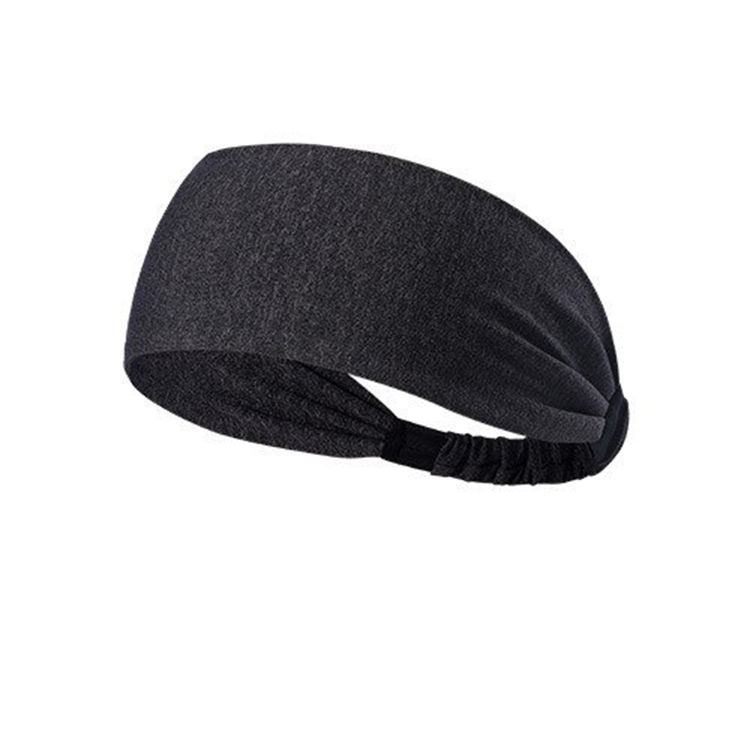 Mens Womens Elastic Headband Long Hair Head Wrap