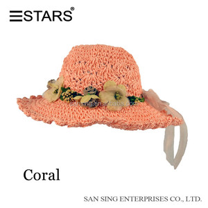 Girls Straw Hats b9d293231883