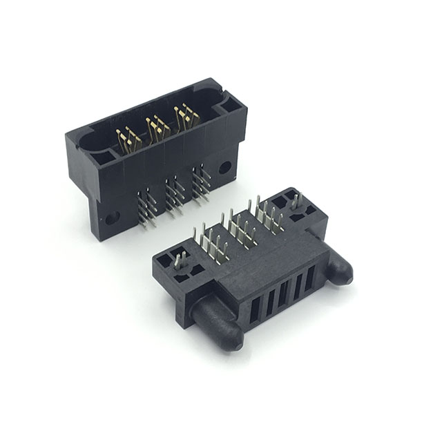 MSD 3 Pin 40A Tyco MULTI-BEAM XL haakse hoge stroom dc blade type power connector