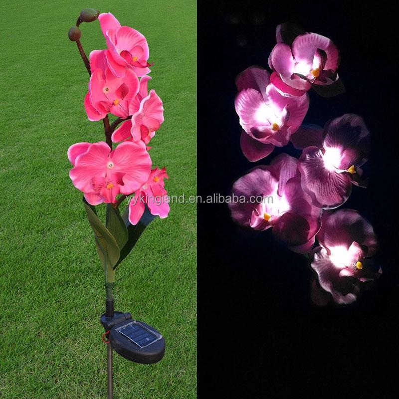 Grossiste lampes solaires de jardin de fleurs-Acheter les meilleurs ...
