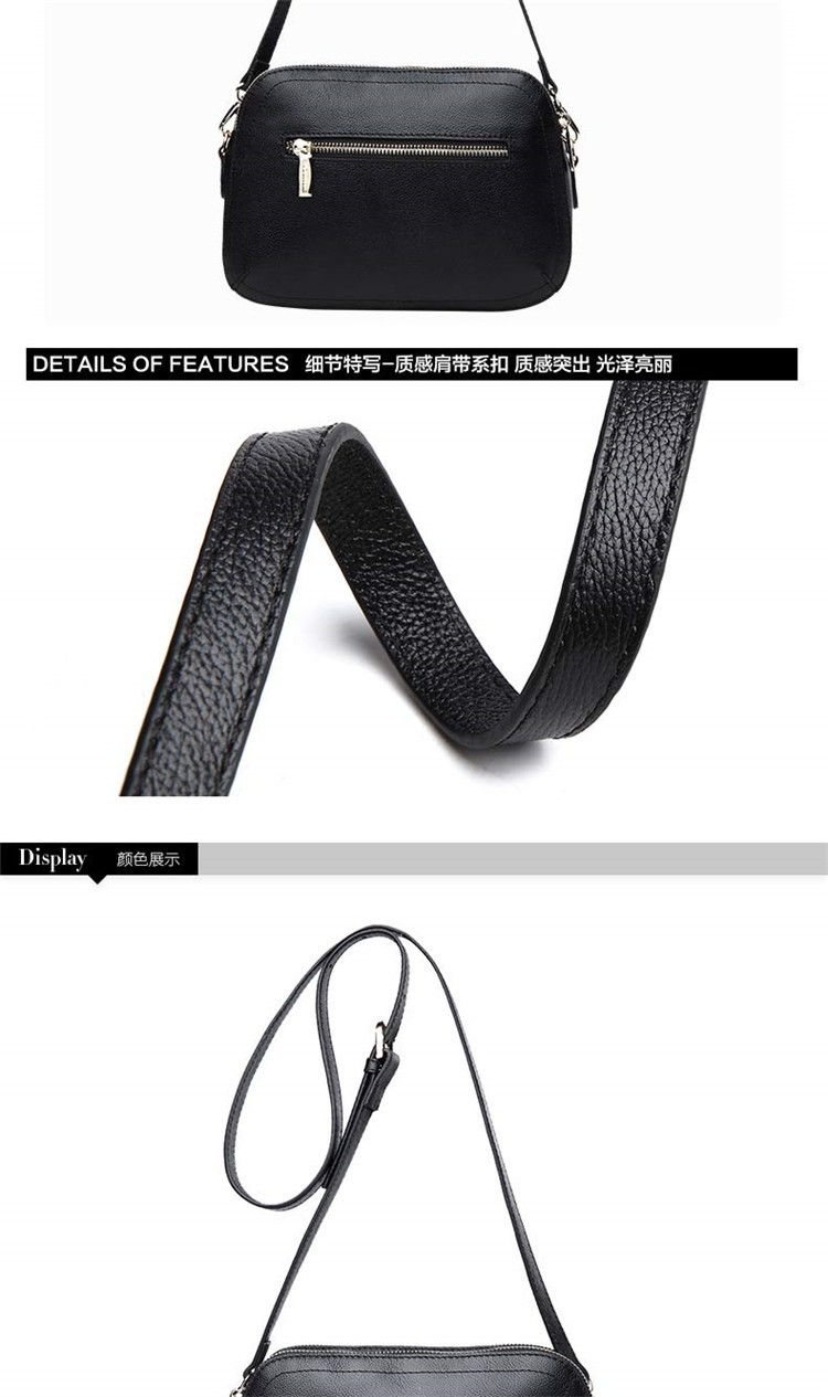 New 2015 Fashion Women Genuine Leather Messenger Bag Shoulder Bags Crossbody  Bolsos Carteras Mujer Marca Handbags Famous Brands11