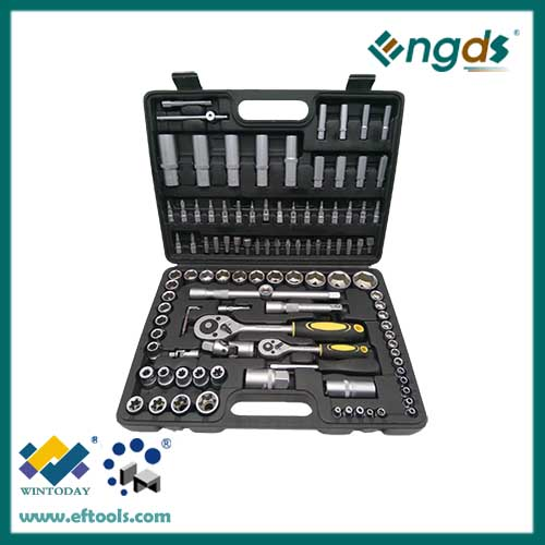 108pcs socket set spanner set in tool box