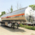 Popular in Vietnam Double Axle Oil Tanker Trailer Tank Semi Traile For Sale
