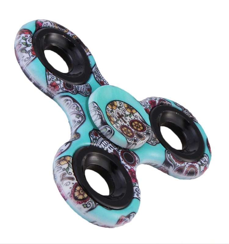 Multicolor Paint Autism ADHD Hand Spinner Fidget Focus Toy