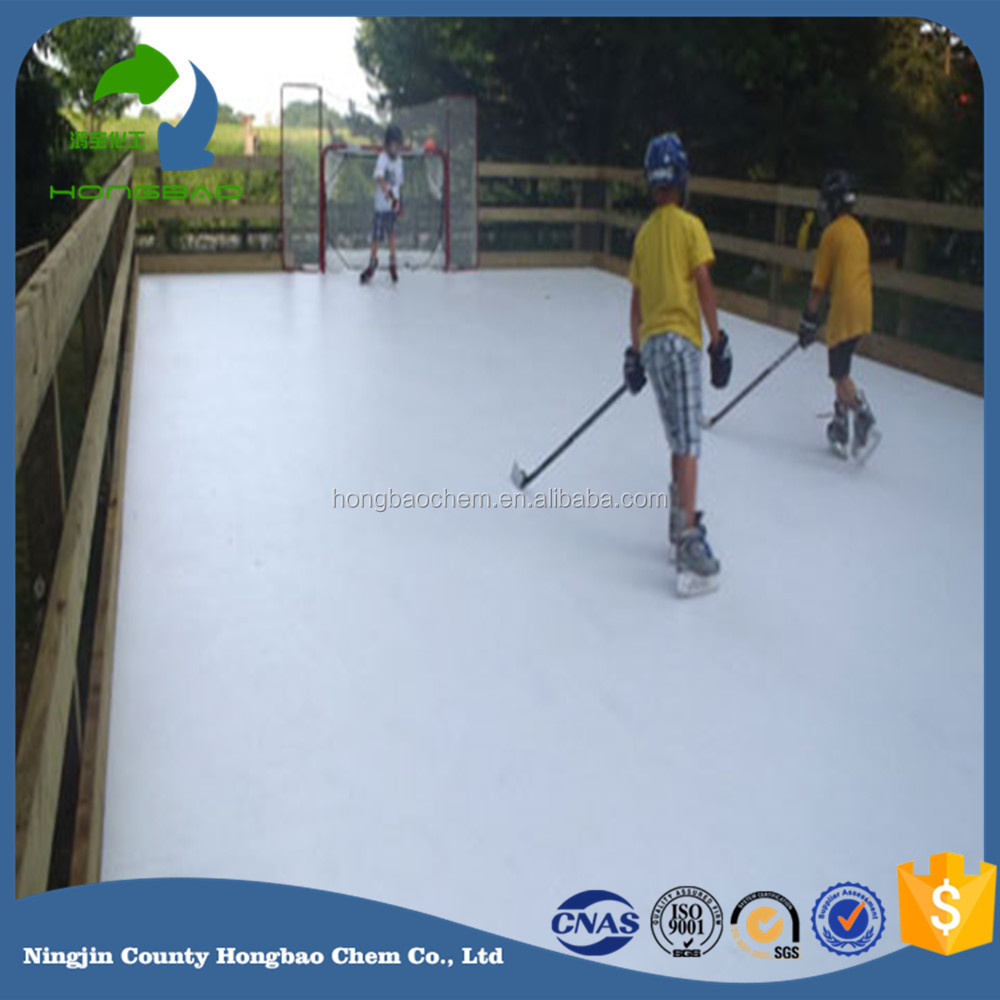 Outdoor UV Wheater Resistance HDPE Rink Plate Sheet Floor