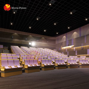 More Than 300 Seats 4D Theater Generating Advanced Vr Theater Price 4d 5d 6d Projector Cinema
