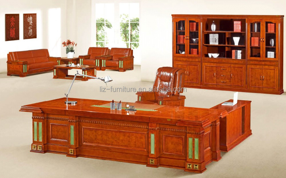 Popular executive office desk antique office table D58