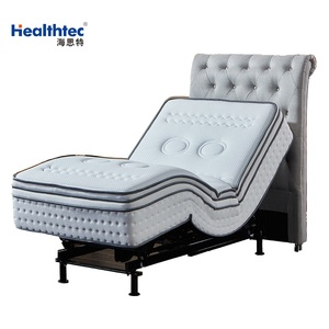 2018 American style electric adjustable bed sponge mattress