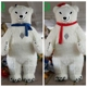 3 meter gaint stuffed animated polar bear christmas decoration mascot costume