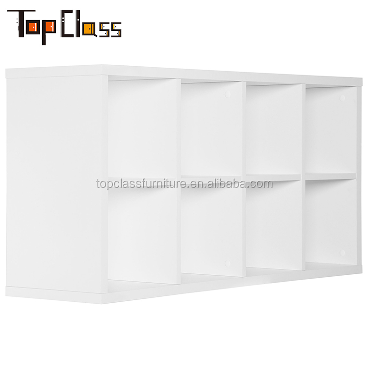 Factory supply Multi Use small white bookshelf