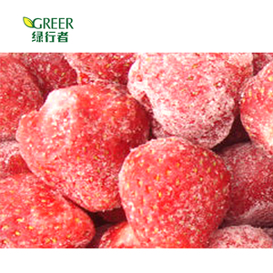 The freshest IQF frozen strawberry from China
