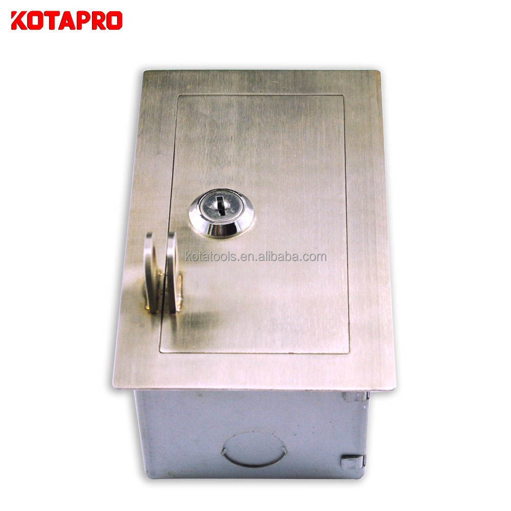 Galvanized sheet steel square electrical distribution motor control panel box