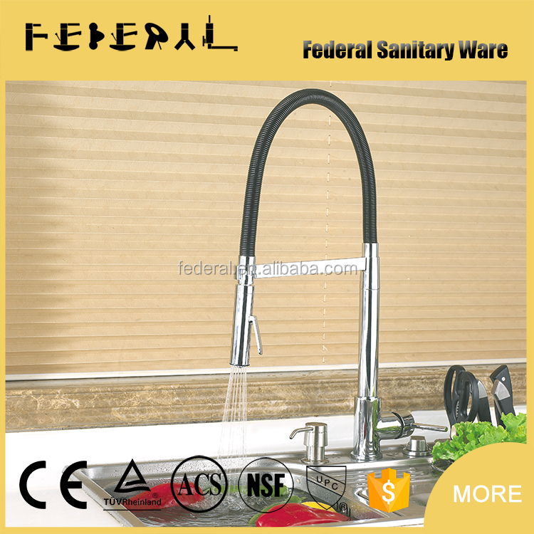 New design ceramic cartridge kitchen faucet with shower