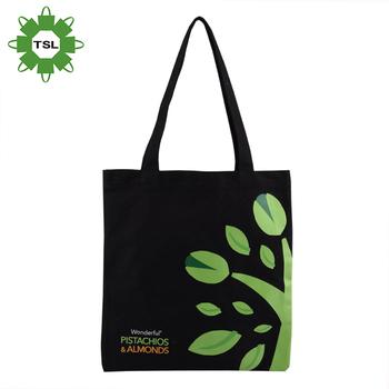 e8d3f0a8d Shipping khuyến mại Đen Canvas Tote Bag Giá Thấp Bán Buôn Green Tree ...