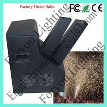 Customized top sell confetti cannon machine stage confetti machine 1000w