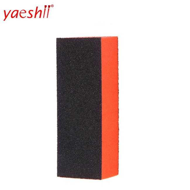 yaeshii Wholesale custom 4 ways sponge block nail polish buffer beauty 7 sides buffer block nail shining print file buffer