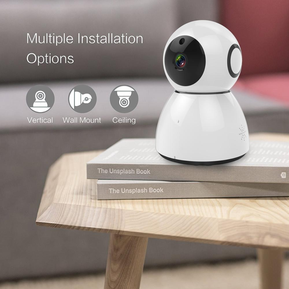 2017 New 360 Degree 1080P Smart Wifi Infrared snowman Camera hot snowman 2.0M pixels HD 1080p wifi baby monitor IP camera