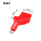 battery vinyl end cap plastic car battery terminal protective cover