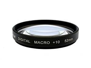 Photo Plus +10 Diopter Macro Closeup Lens for Panasonic Lumix DMC-GF3 GF2 GX1 G10 G5 G3 G2 G1 with the Panasonic Lumix G Vario 14-42mm F3.5-5.6 ASPH OIS Lens