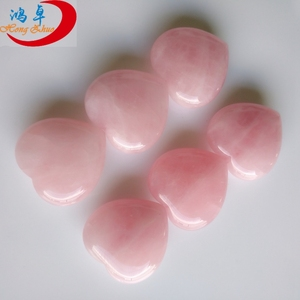 Different Models of heart shaped rose quartz pendant heart shaped rose quartz necklace heart shaped rock quotes