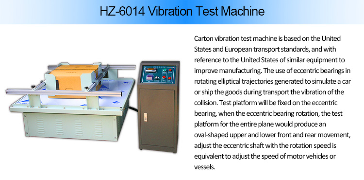 Transport Simulation Vibration Test Equipment