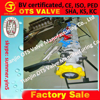 Wholesale Bv-SY-447 High quality wafer butterfly control valve ...