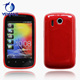Soft TPU Gel Golssy Jelly Case Cover for htc explorer a310e cover back