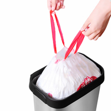 Colorful Drawstring Kitchen Trash Bag Thick Home Office Large Size Plastic Garbage Bags