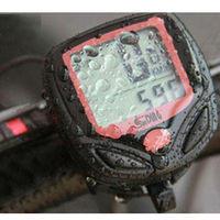 Cycling Bike Bicycle Wireless LCD Cycle Computer Odometer Speedometer Waterproof